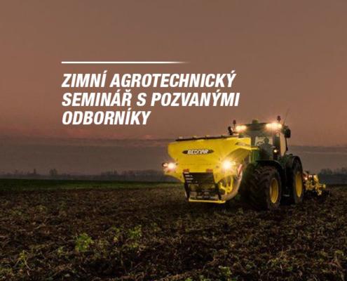Zimní agrotechnické semináře 2017