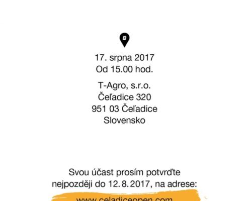 Čeladice Open 2017