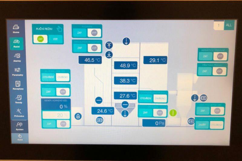 Báč - projekt sušicí linky BÜHLER předán