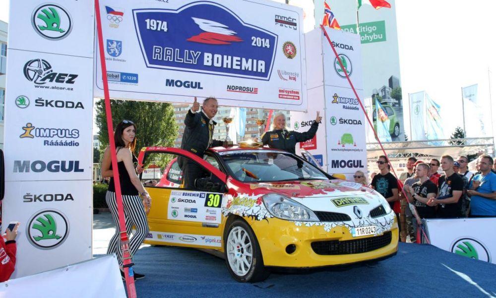 BEDNAR na Rally Bohemia