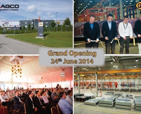 Nově otevřená továrna GSI v Maďarsku