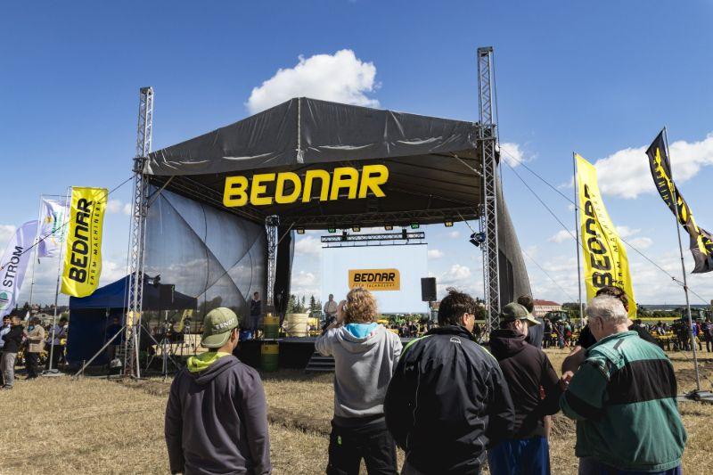 Rekordní počet návštěvníků - Polní den BEDNAR 2017