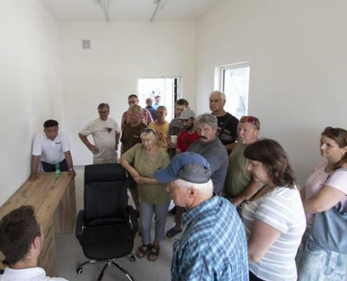 Slavnostní otevření posklizňové linky BEDNAR na Hané
