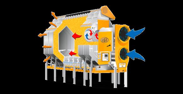 Horizontální sušárny - BEDNAR Farm Technology