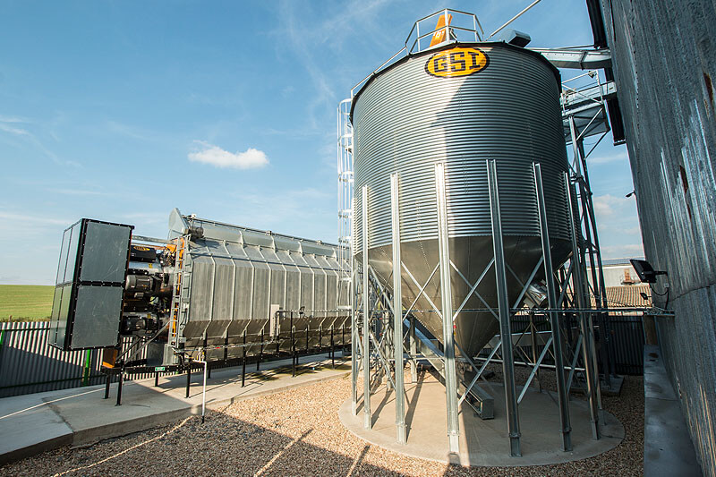 BEDNAR Farm Technology - Horizontální sušárny