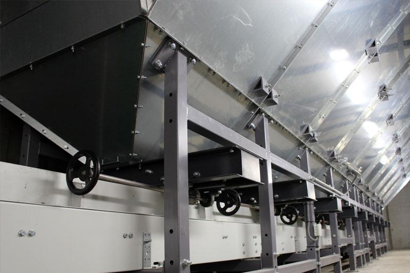 BEDNAR Farm Technology - Pásové dopravníky