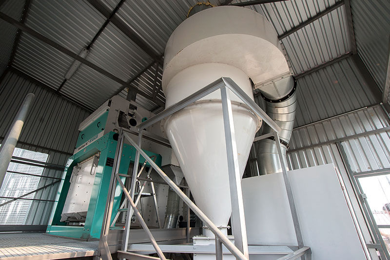 BEDNAR Farm Technology - Sítové čističky