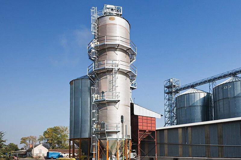 BEDNAR Farm Technology - Věžové sušárny