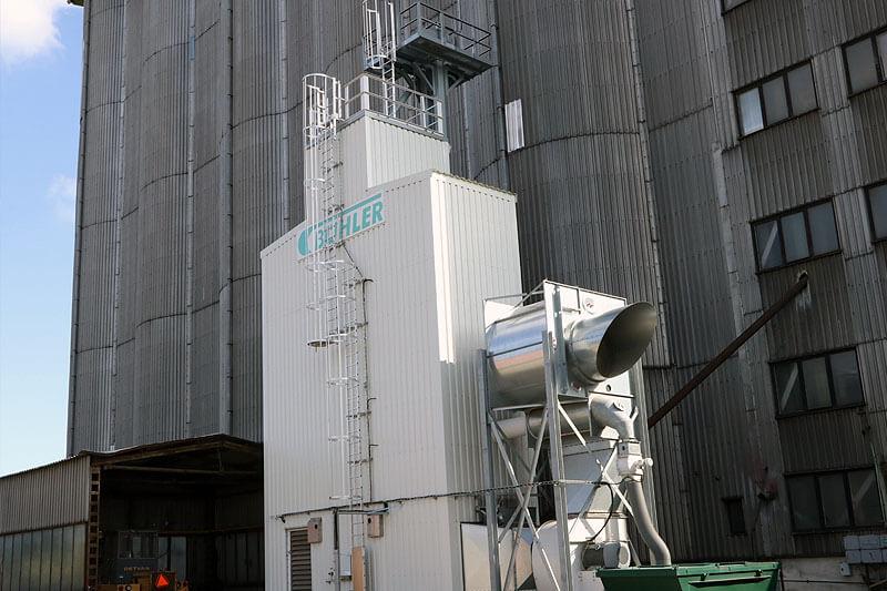 BEDNAR Farm Technology Šachtová sesypné sušárny