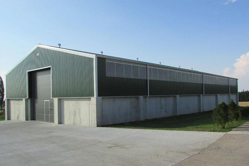 BEDNAR Farming Technology - Skladovací hala (zdroj: www.borga.cz)